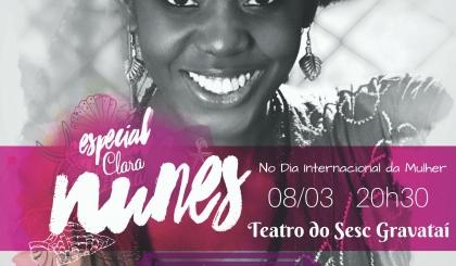 Dia Internacional da Mulher terá Show Especial