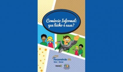 Cartilha infantil vai conscientizar sobre prejuízos da pirataria