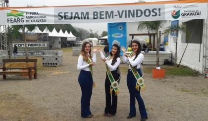 Sindilojas presente na 5ª Feira Agrorrural de Gravataí